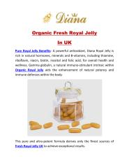 Organic Fresh Royal Jelly In UK.pdf