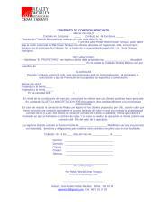 Contrato Comision Mercantil y Promocion de Inmuebles.doc