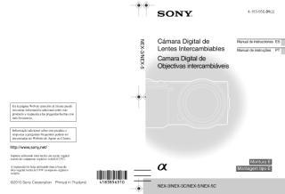 Manual Sony NEX 3 e NEX 5 Portugues.pdf