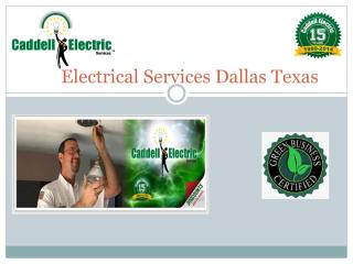 Dallas electricians for Residential Homes - Copy.pdf
