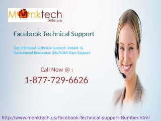 Make short length Password Click on Facebook Technical Support 1-877-729-6626.pptx