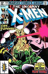 the uncanny x-men #144 (abr. 1981) - mesmo que a morte nos separe!.cbr