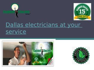 Dallas electricians for Homes.pptx